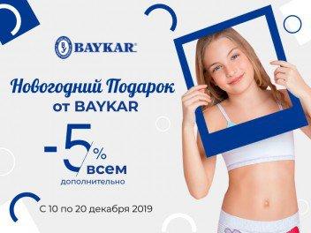 Новогодний подарок от BAYKAR