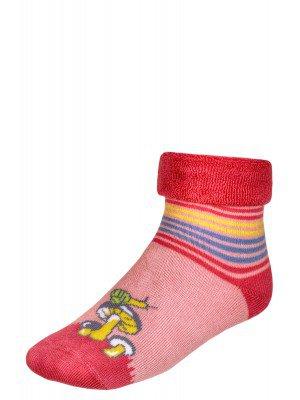 Носки махровые внутри с отворотом  SOF-TIKI (052) светло-розовый