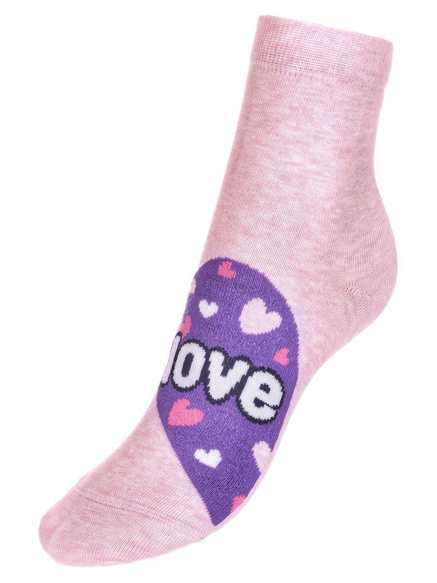Носки TIP-TOP веселые ножки  (279), цвет: розовый