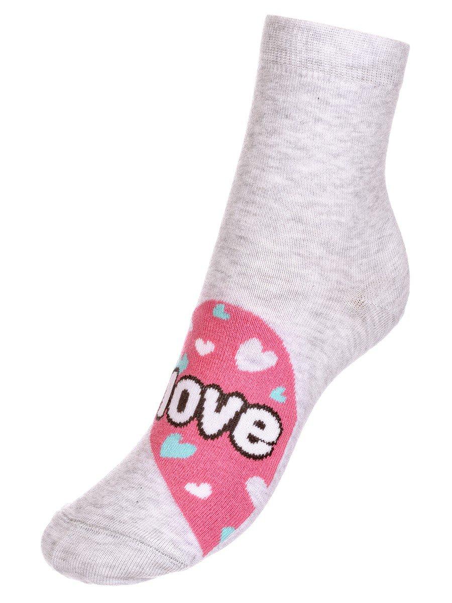 Носки TIP-TOP веселые ножки  (279), цвет: светло-серый