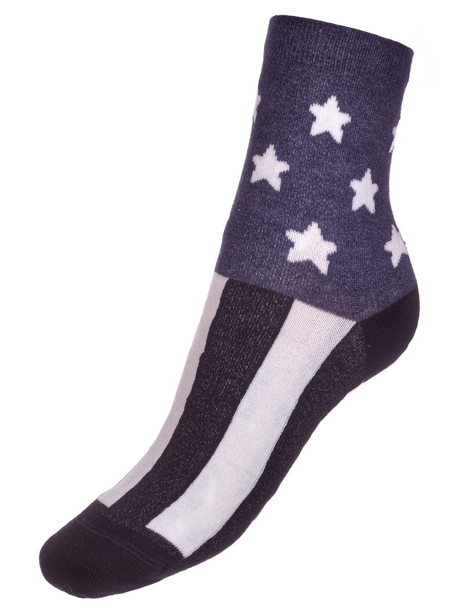 Носки TIP-TOP веселые ножки  (280), цвет: темно-синий