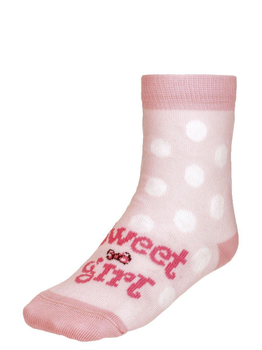 Носки TIP-TOP веселые ножки  (284), цвет: светло-розовый