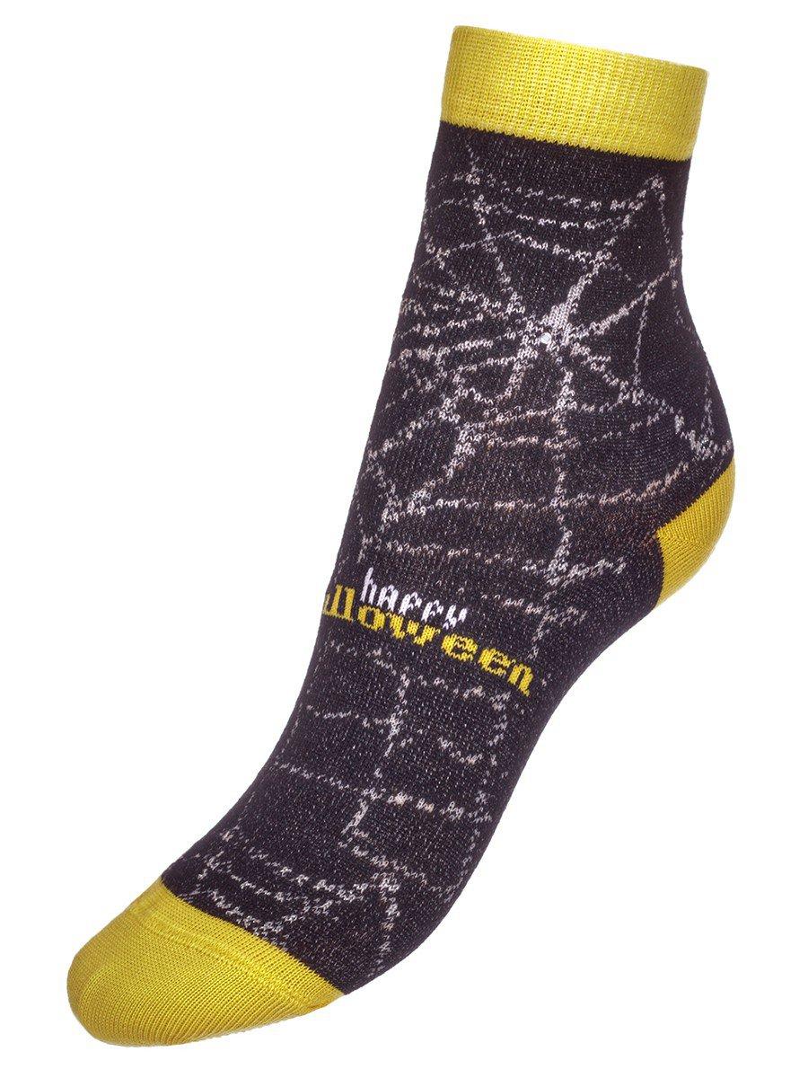 Носки TIP-TOP стразы,люрекс  (285), цвет: черный