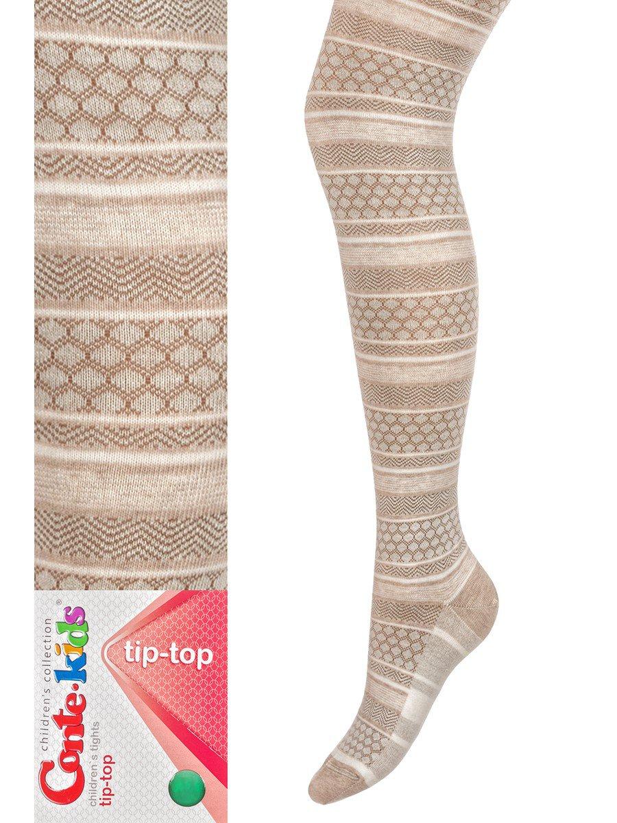 Колготки  для девочки TIP-TOP, цвет: бежевый