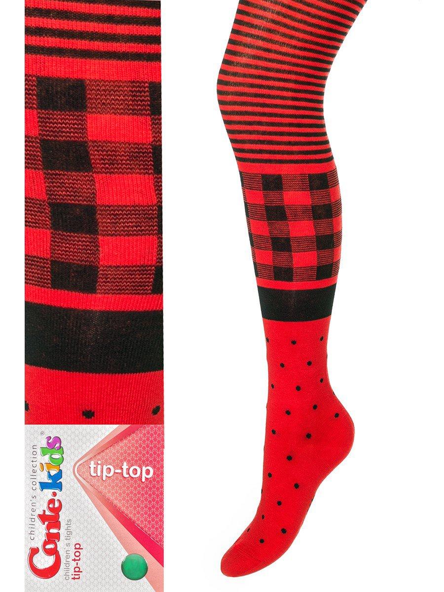 Колготки TIP-TOP (435), цвет: красный