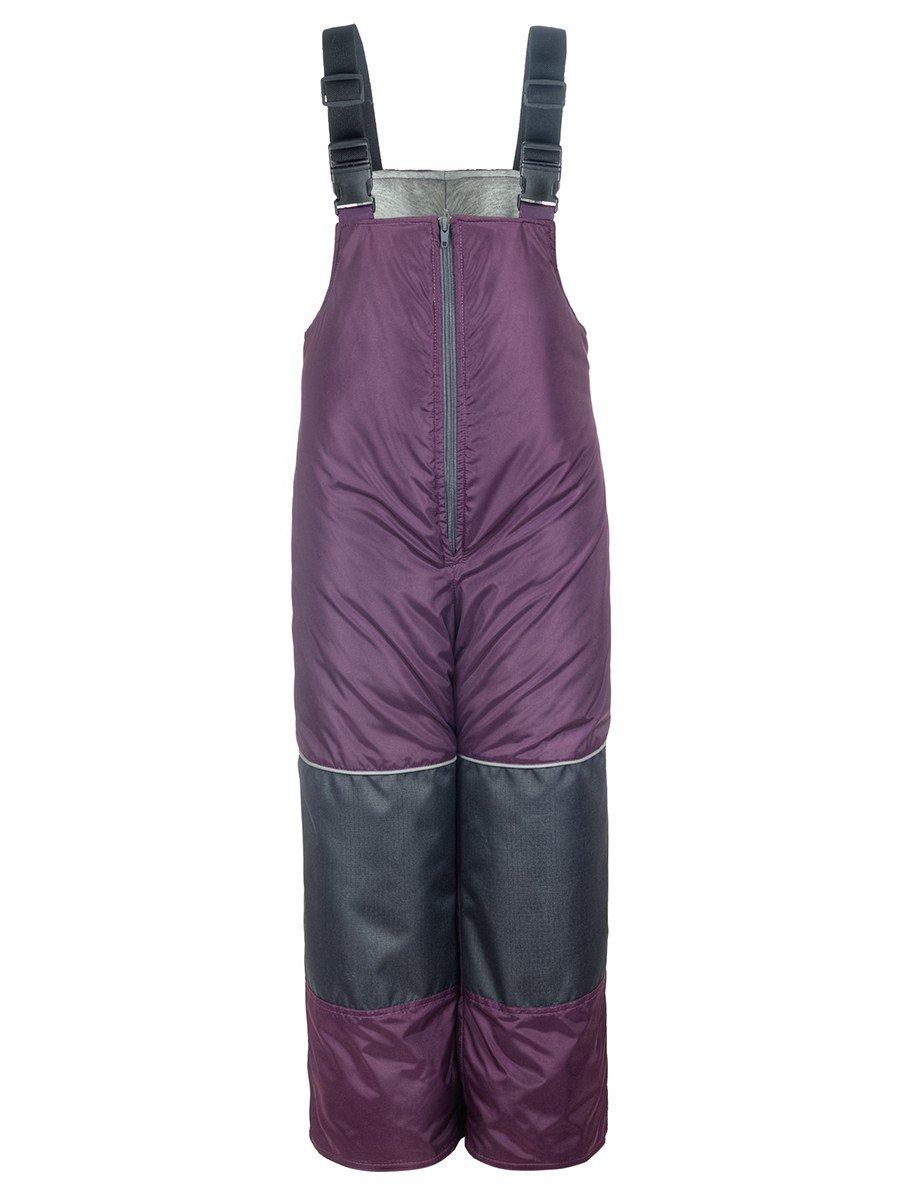Полукомбинезон утепленный на синтепоне, цвет: фиолетовый