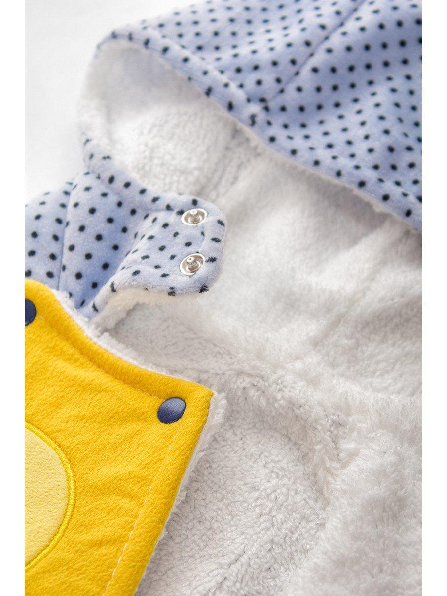 Комбинезон детский велюровый на махровой подкладке