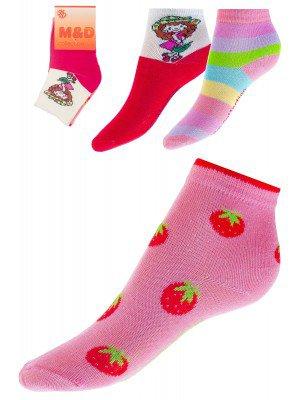 Носки для девочки 3шт/уп