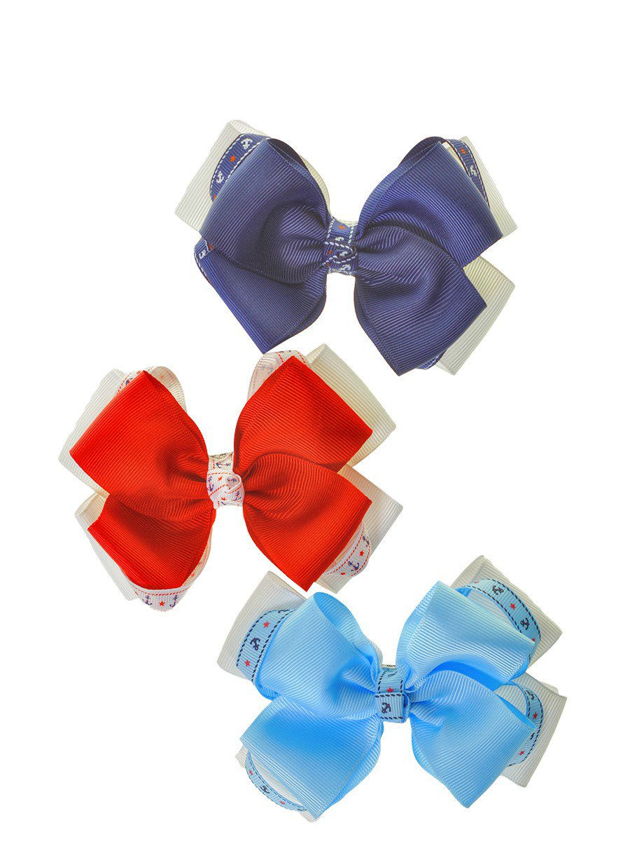 Бант-резинка, цвет: мультиколор