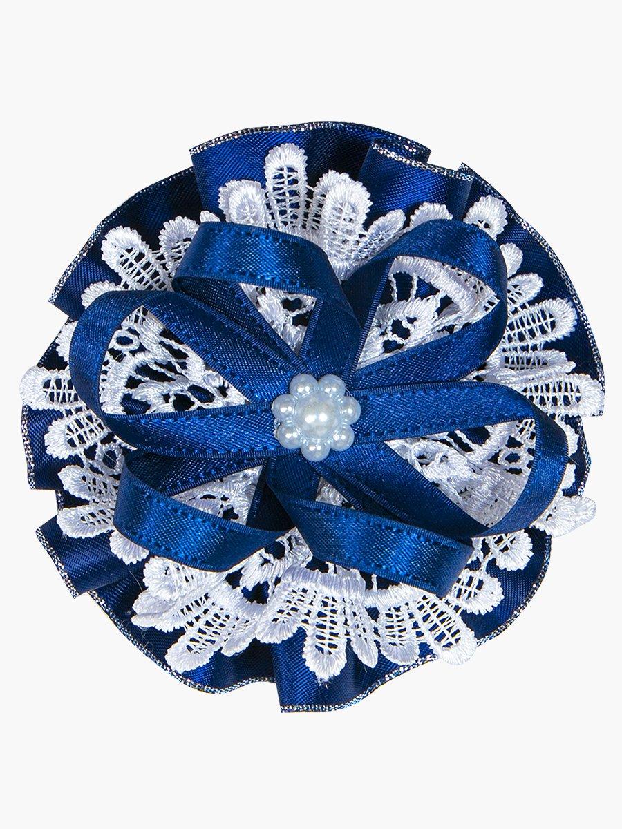 Бант-резинка, цвет: темно-синий