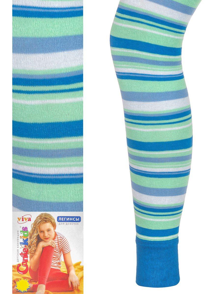 Легинсы для девочки Conte Kids , цвет: синий