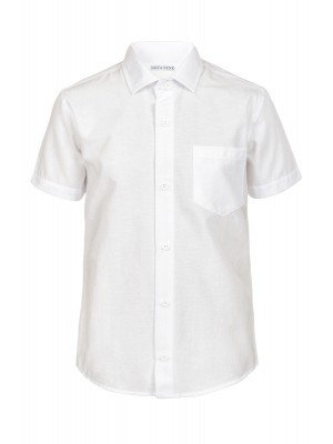 Рубашка прямого силуэта для школы