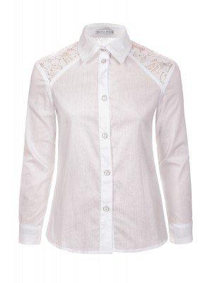 Блузка для девочки младшего школьного возраста