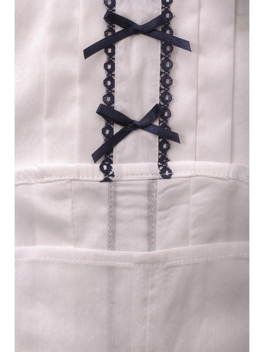 Блузка текстильная для девочки младшего школьного возраста