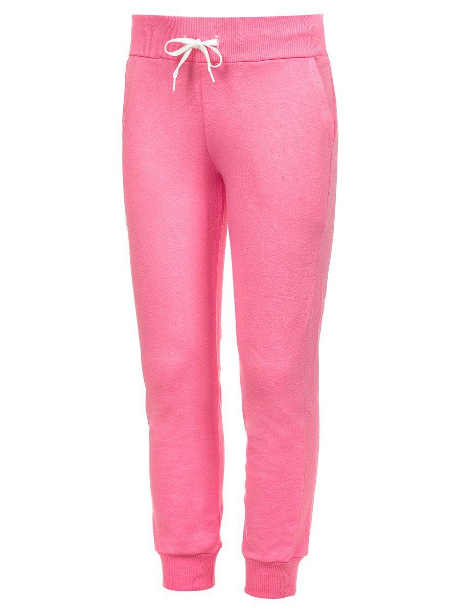 Брюки спортивные детские, цвет: розовый