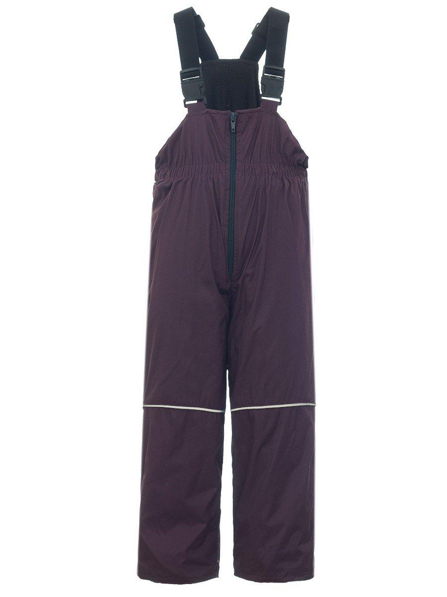Брюки утепленные на флисе, цвет: фиолетовый
