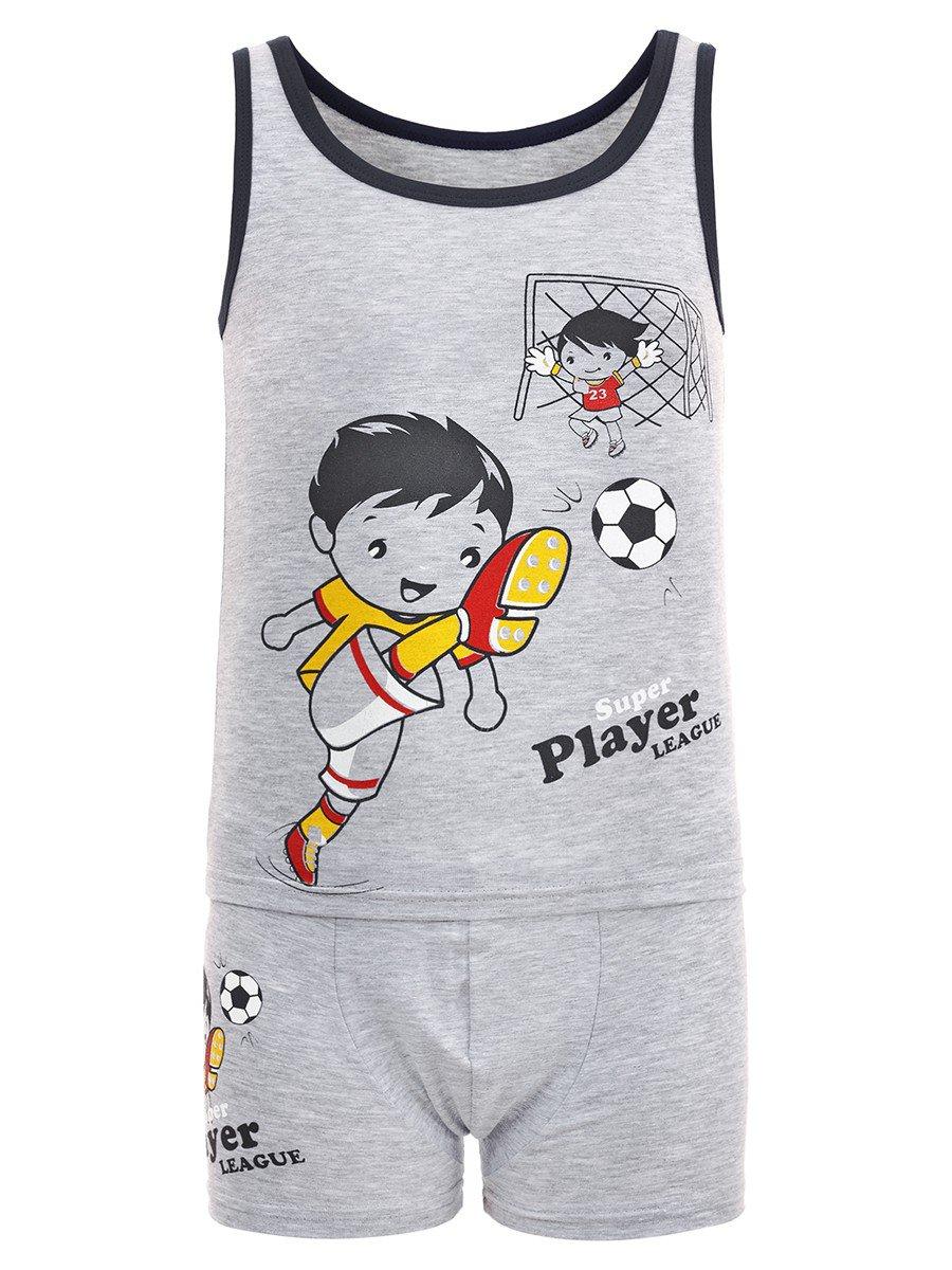 Комплект для мальчика(1шт/уп), цвет: серый