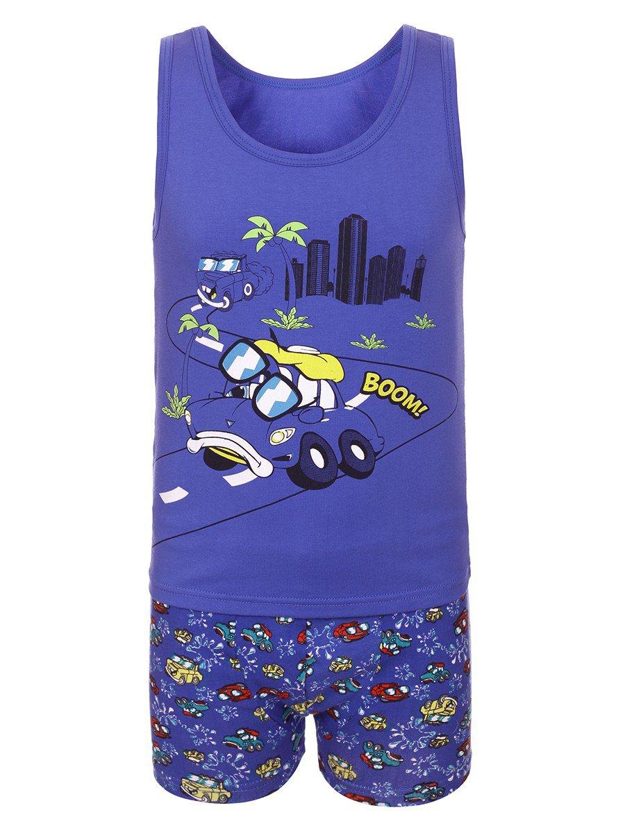 Комплект для мальчика (1шт/уп), цвет: синий