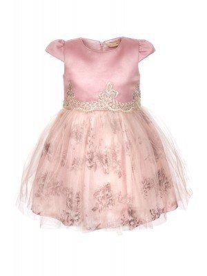 Платье атласное, на подкладке,декор-сетка и стразы