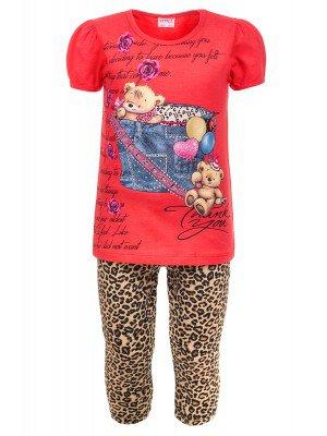 Комплект для девочки:футболка и лосины