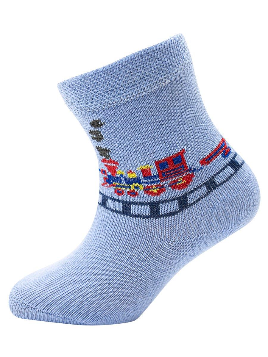Носки для мальчика, цвет: голубой