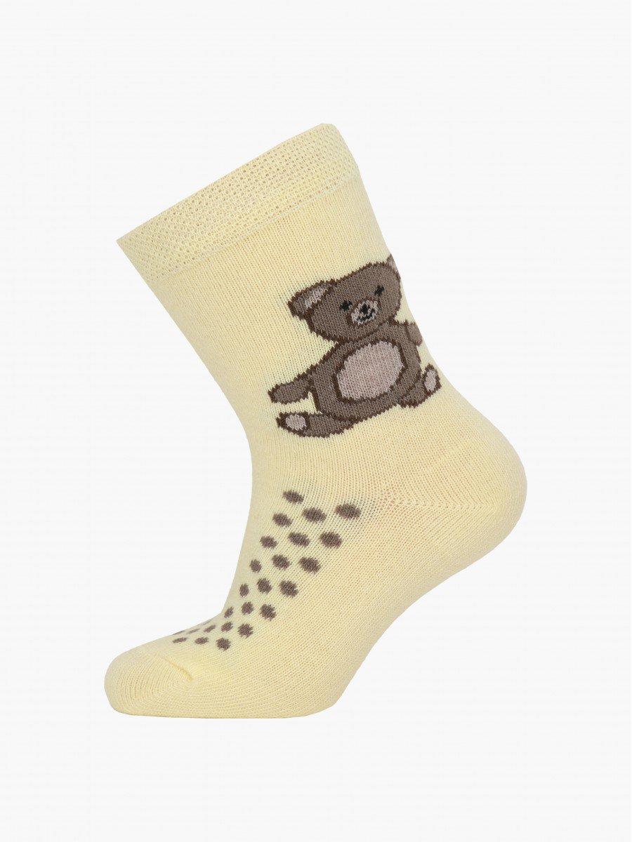 Носки детские, цвет: желтый