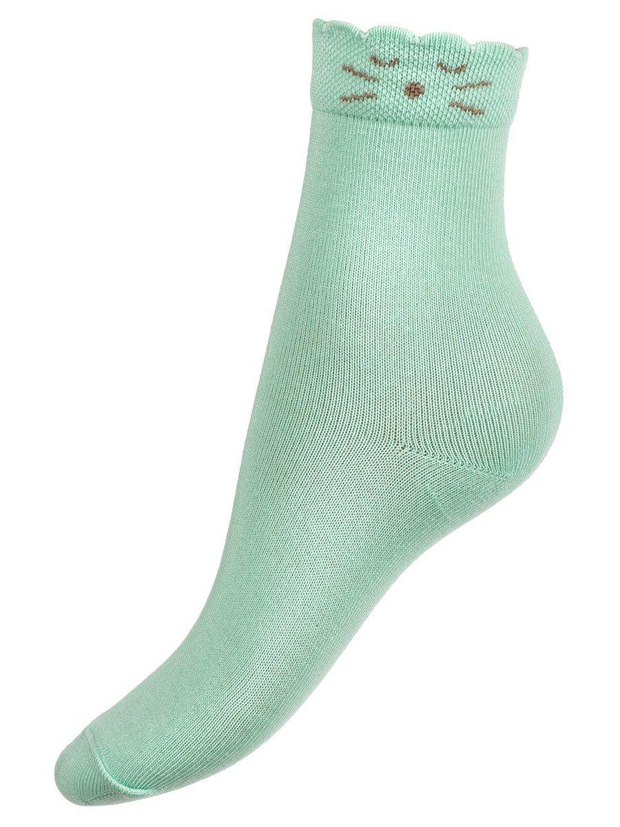 Носки для девочки, цвет: мятный