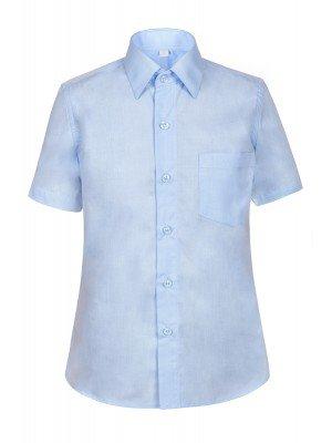 Рубашка приталенная для школы