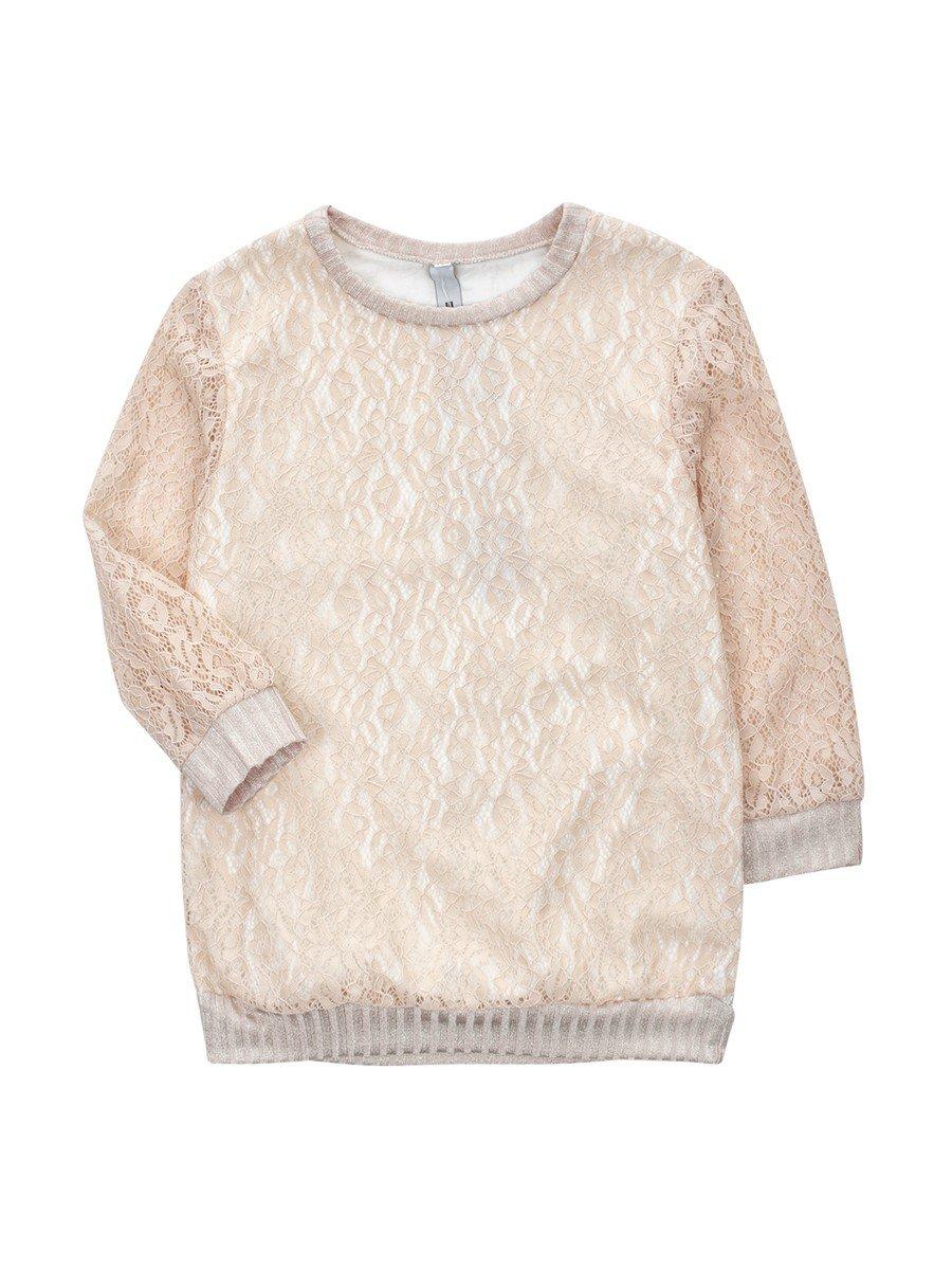 Блуза нарядная для девочки, цвет: пудра