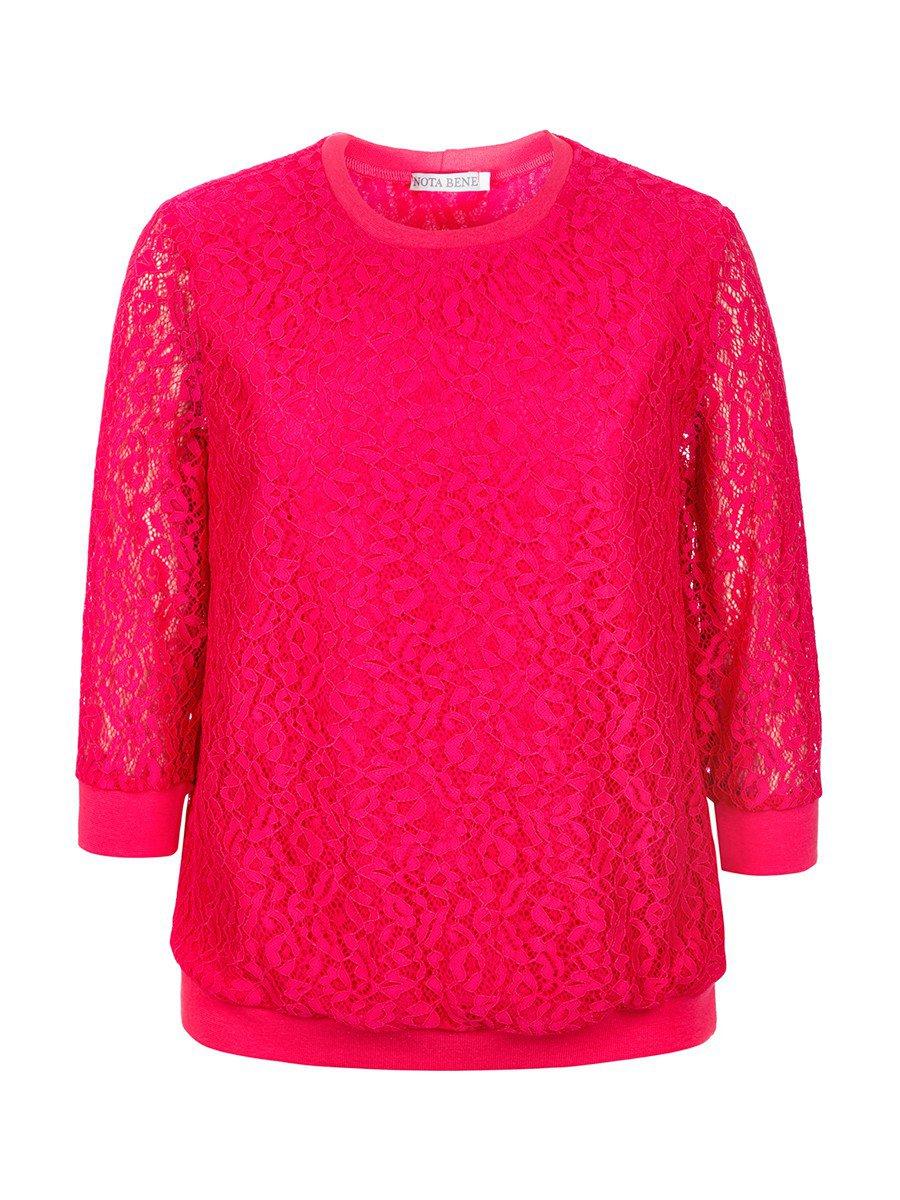Блуза нарядная для девочки, цвет: фуксия