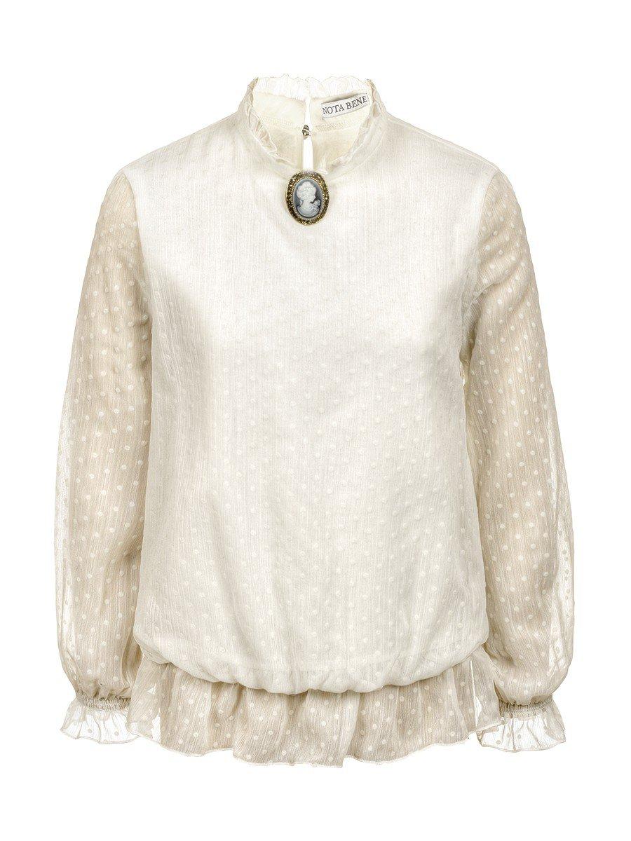 Блуза нарядная для девочек (полных)