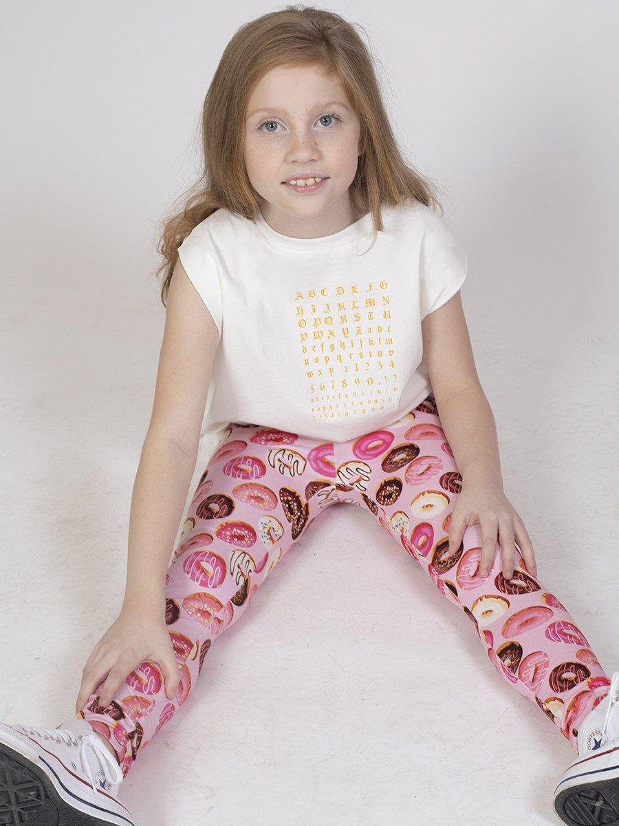 Лосины для девочки, цвет: розовый