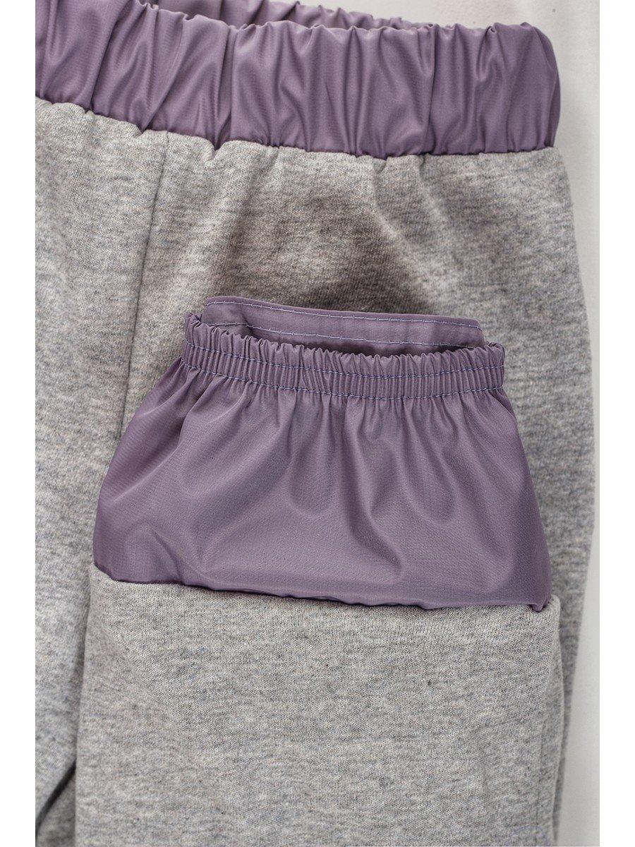 Брюки из плащевой ткани на подкладке из хлопка (девочка)