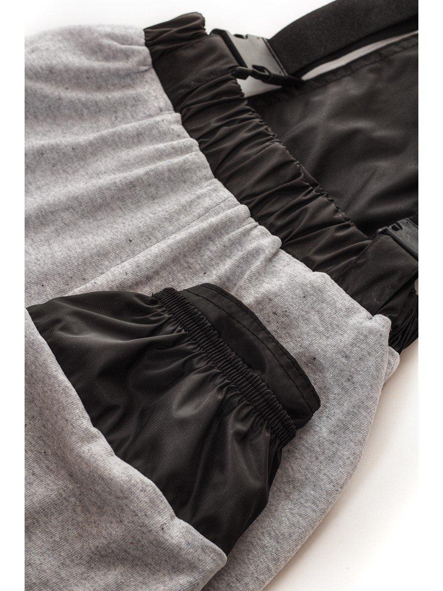 Брюки со спинкой из плащевой ткани на подкладке из хлопка (мальчик)