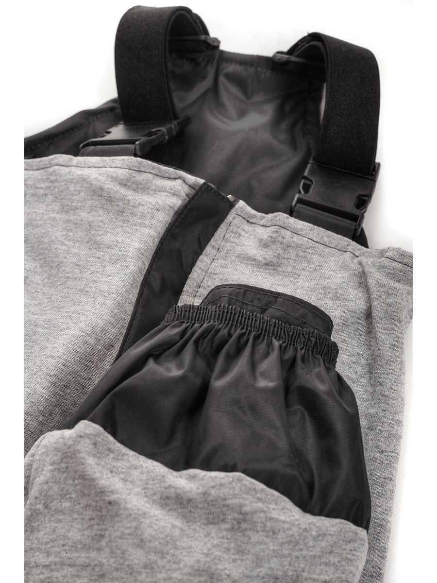Брюки со спинкой из плащевой ткани на подкладке из хлопка (унисекс)