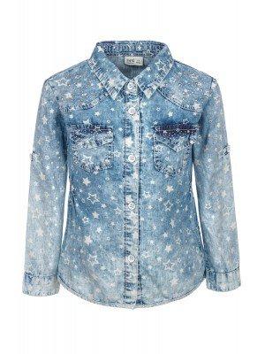 Рубашка джинсовая для девочки