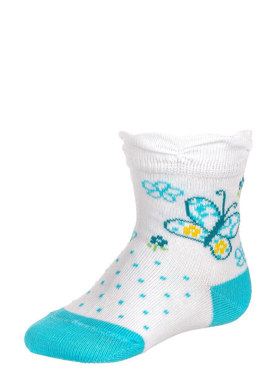 Носки для девочки, цвет: белый
