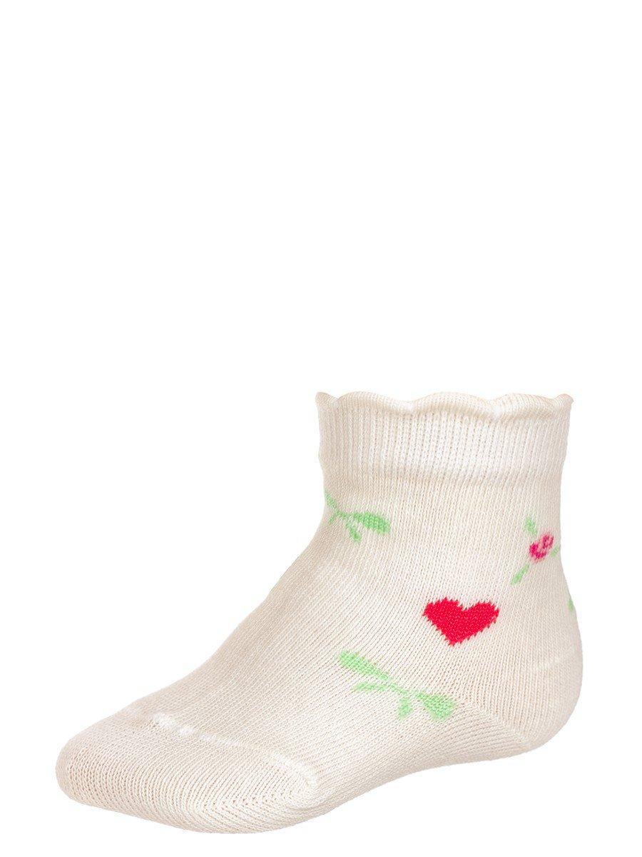 Носки для девочки, цвет: бежевый