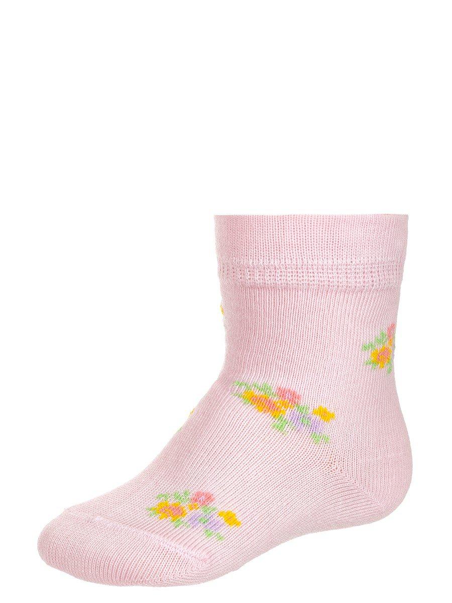 Носки для девочки, цвет: розовый