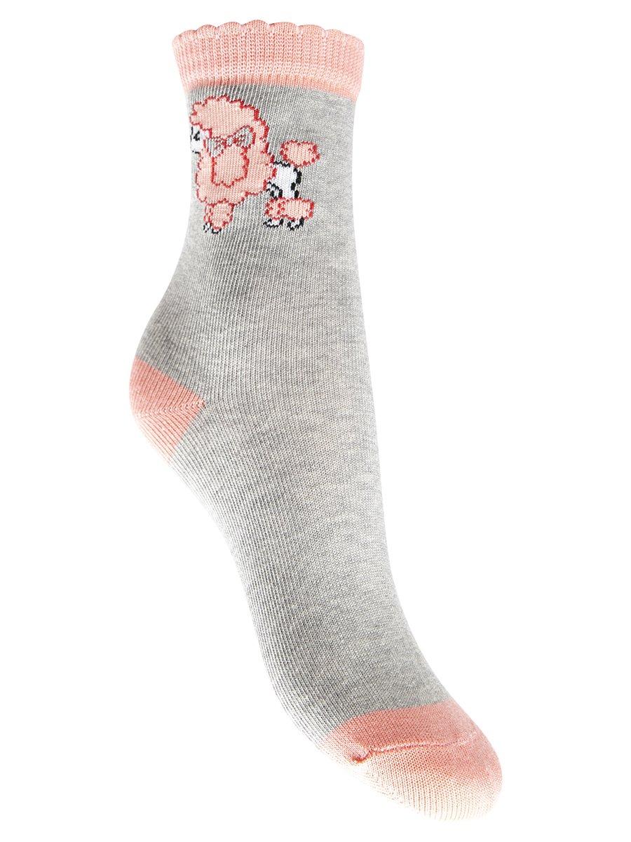Носки детские, цвет: серый меланж