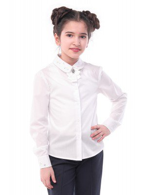 Блузка для девочки с вышивкой