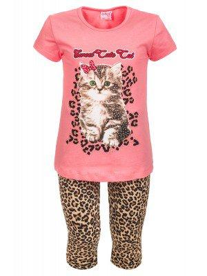 Комплект для девочки: футболка и лосины