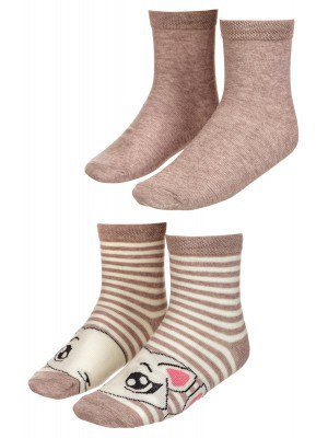Носки для девочки «Орловский сувенир», комплект из 2 пар