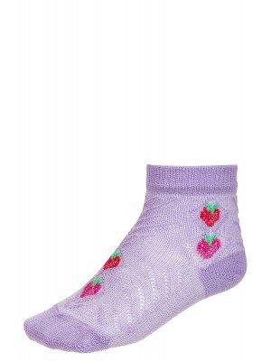 Носки для девочки с двойным бортом