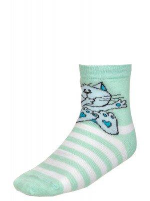 Носки для девочки, двойной борт