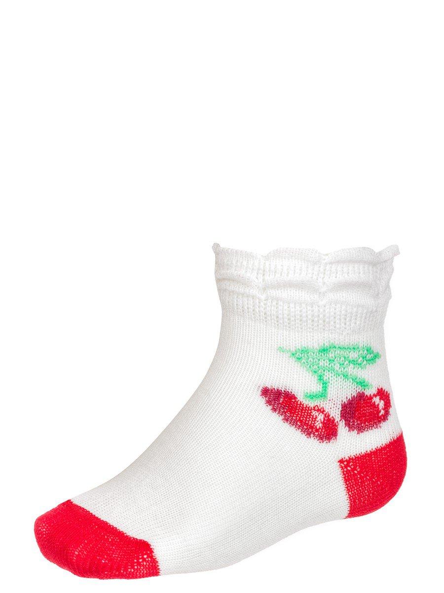 Носки для девочки борт в виде двойной рюши