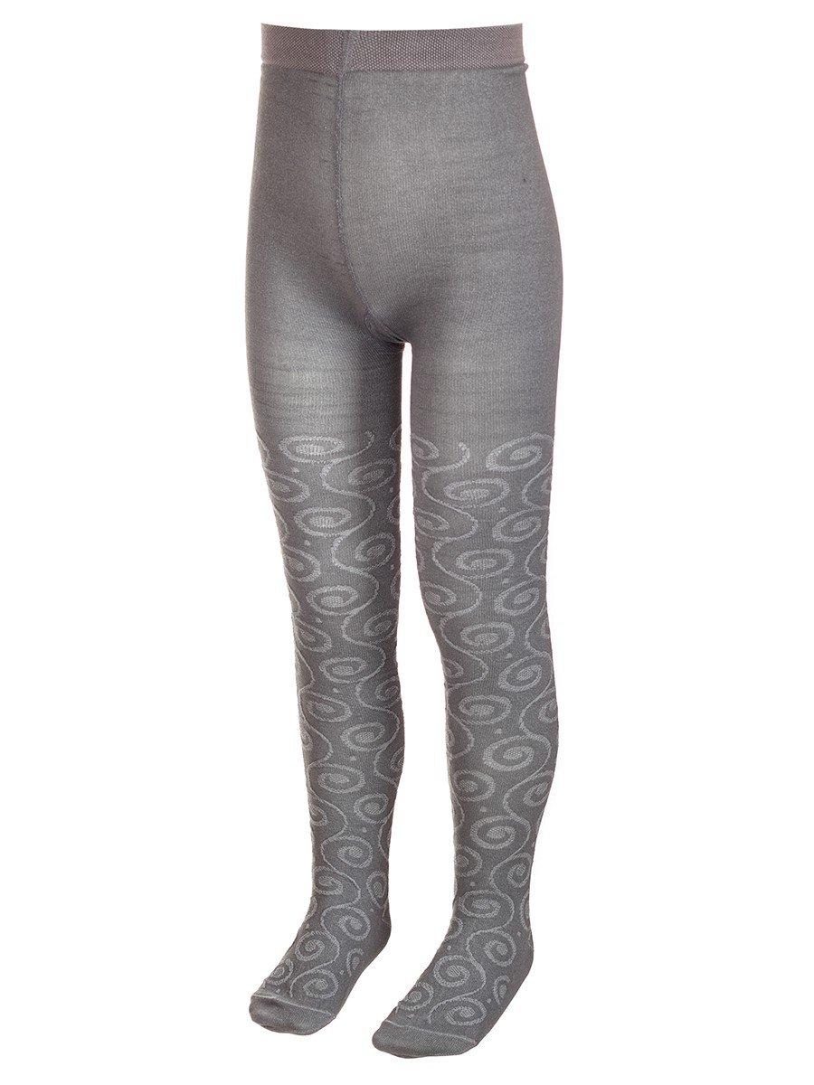 Колготки для девочки с ажурным рисунком по всей длине ножки