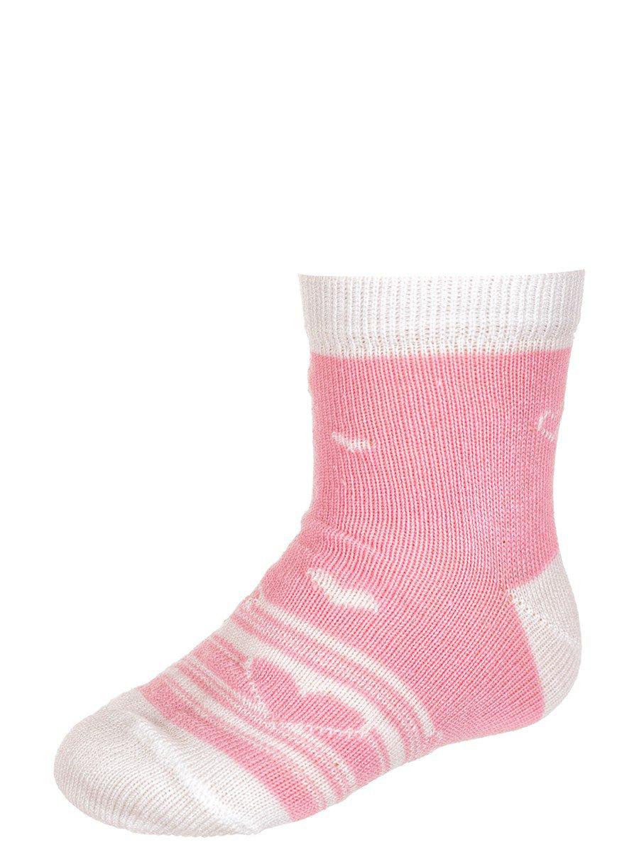 Носки для девочки, цвет: светло-розовый