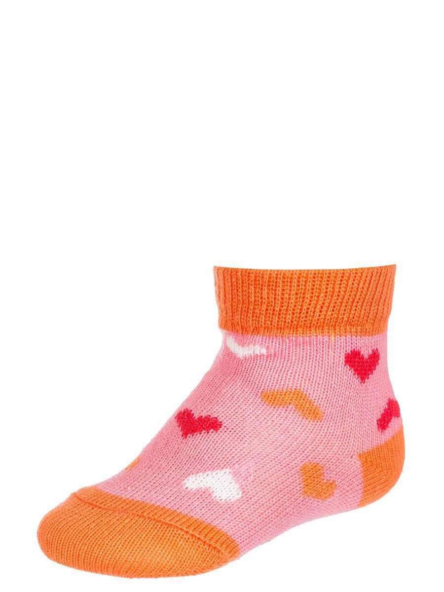 Носки для девочки, цвет: персиковый