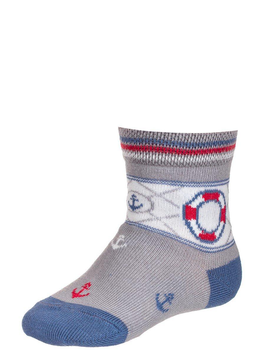 Носки для мальчика, цвет: серый